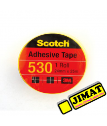 3M Scotch 530 Adhesive Tape - 24mm x 25m (Small)