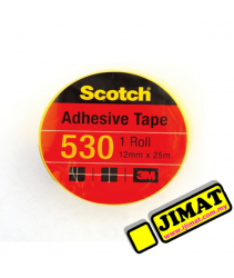 3M Scotch 530 Adhesive Tape - 12mm x 25m (Small)