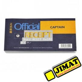 CAPTAIN Official Receipt 50 Set x 2 Ply