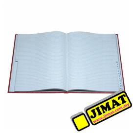 Hard Cover Foolscap Book (INDEX) 400Pgs