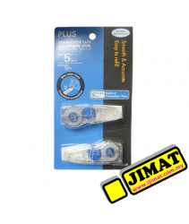 PLUS Correction Tape WH-605R-2P Refill (twin pack)