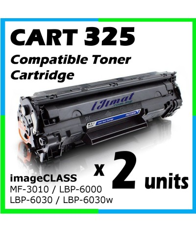 Canon 325 / Cart 325 / Canon Cartridge 325 High Quality Compatible Toner Cartridge For MF3010 / imageCLASS MF-3010 / LBP-6000 / LBP-6030 / LBP-6030w / MF3010 / LBP6000 / LBP6030 / LBP6030w Printer Toner