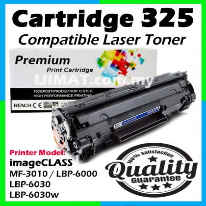 Canon 325 CRG 325 Cart 325 Cartridge 325 Compatible Laser Toner Cartridge For Canon LaserJet MF3010 imageCLASS MF-3010 / LBP-6000 LBP6000 / LBP-6030 LBP6030 / LBP-6030w LBP6030w / LBP6018 LBP-6018 Printer Ink