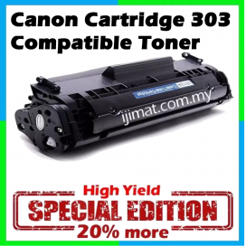 Canon 303 / Canon Cartridge 303 High Quality Compatible Toner Cartridge For LBP2900  / LBP3000 Printer