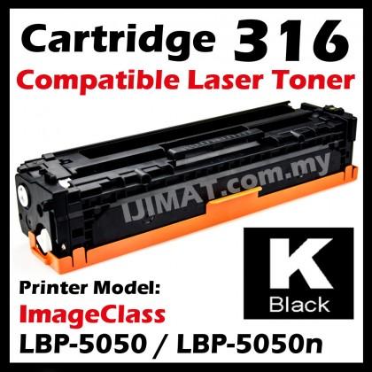 (B/C/M/Y) Canon 316 Cartridge 316 CRG 316 Compatible Colour Laser Toner Cartridge For Canon LBP-5050 LBP5050 / LBP-5050N LBP5050N Printer Ink