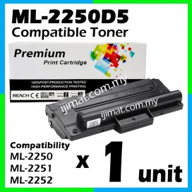 Samsung ML-2250D5 / ML2250 / 2250 Compatible Toner Cartridge For Samsung Printer ML-2250 / ML-2251N / ML2251N / ML-2251NP / ML-251NP / ML-2252W / ML2252W Printer Toner