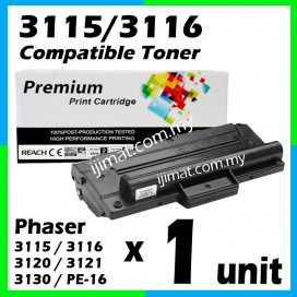 Fuji Xerox 3115 / 3116 / 3120 / 3121 / 3130 / PE-16 High Quality Compatible Toner For Phaser 3115 / Phaser 3116 / Phaser 3120 / Phaser 3121 / Phaser 3130 / WorkCentre PE16