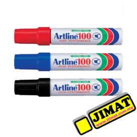 Artline 100 Permanent Marker (3 Colour Options)
