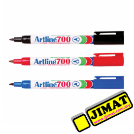 Artline 700 Permanent Marker (3 Colour Options)