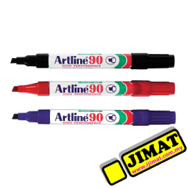 Artline 90 Permanent Marker (3 Colour Options)