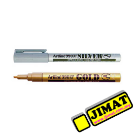Artline 990XF Marker Metalic Ink 1.2mm (2 Colour Options)
