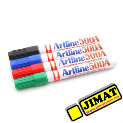 Artline 500A Whiteboard Marker (Black / Blue / Red / Green)