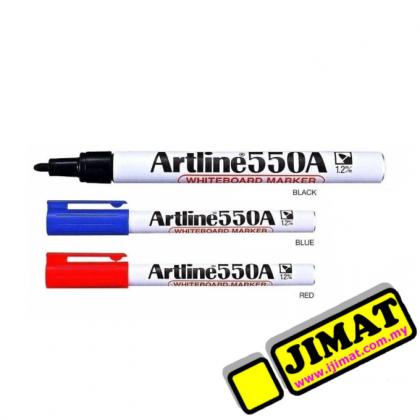 Artline 550A Whiteboard Marker (3 Colour Options)
