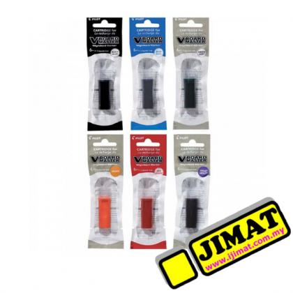 PILOT Whiteboard Marker Refill Cartridge (Black / Blue / Red / Green / Orange / Violet)