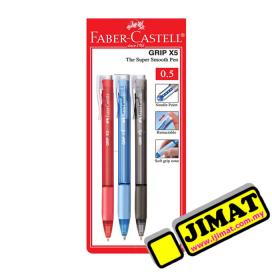 FABER-CASTELL Grip X5 Ball Pen (0.5mm)