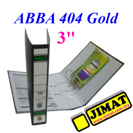 ABBA Arch File 404 Gold 3""