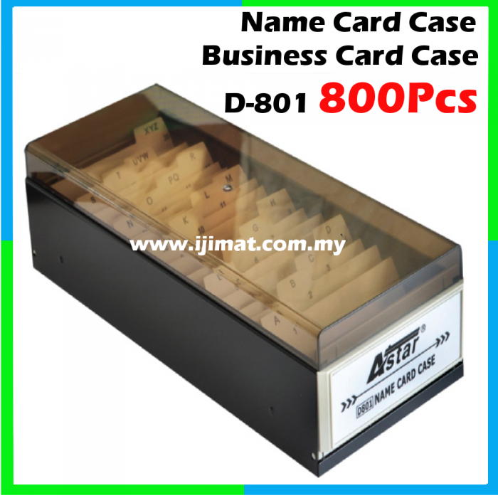 Astar d 801 business card case name card case 800 cards capacity colourmoves