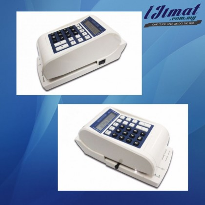 Biosystem iCheque 5 / iCheque5 / i Cheque 5 Cheque Writer, Cheque Printing Machine, Pencetak Cek (3 Currencies)