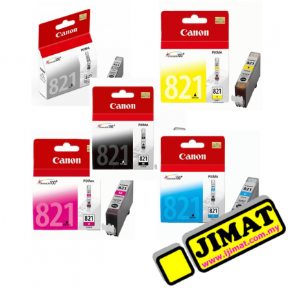 Canon CLI-821 Ink Tank (5 Colours)