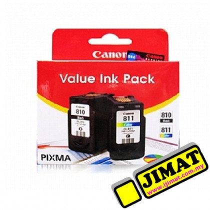 Canon PG-810+CL-811 Value Pack Ink Cartridge (CMYK)