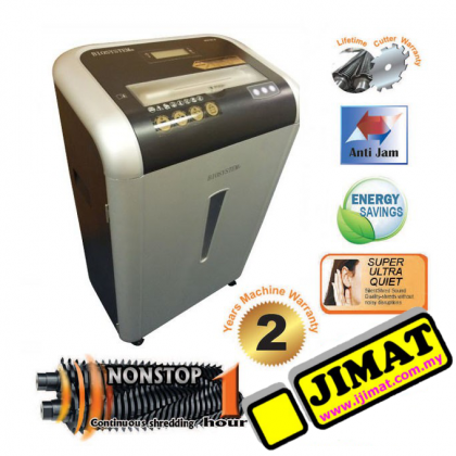 Biosystem 915CC II Paper Shredder (Heavy Duty) (Cross Cut)