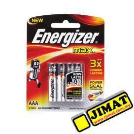 Energizer Battery AAA (4pcs)