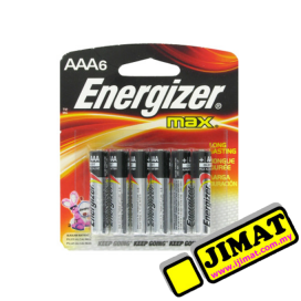 Energizer Battery AAA (6pcs)