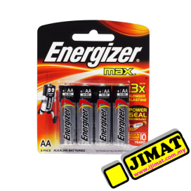 Energizer Battery AA (4pcs)