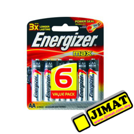 Energizer Battery AA (6pcs)