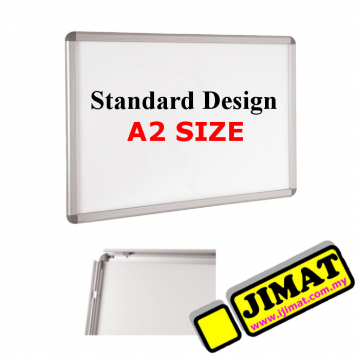 standard wall mounted poster frame a2 size