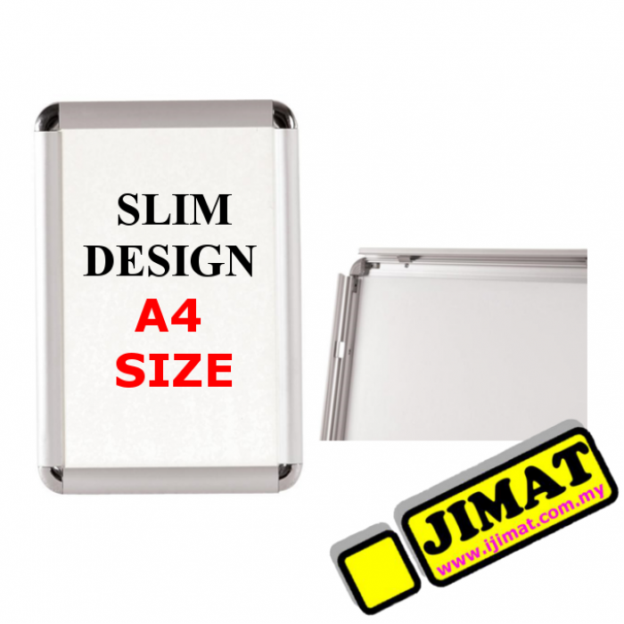 Slim Wall Mounted Poster Frame (A4 Size)