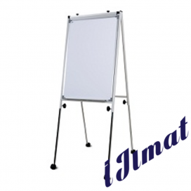 Conference Flip Chart (Grey) FC34R (3' x 4')