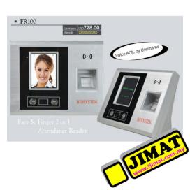 Biosystem FR100 Face & Fingerscan Time Attendance Reader