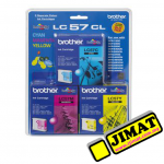 Brother LC-57 Color Ink Cartridge Value Pack