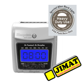 Biosystem BX3300D Heavy Duty Time Recorder (Digital Display)