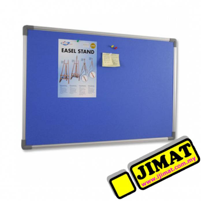 Aluminium Frame Notice Board (Foam Board) FB 36 (3\' x 6\')