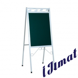 "Deluxe Menu Board ""A"" Double Side (130 x 56 x 71 cm)"
