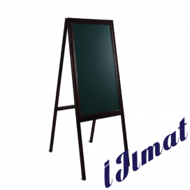 Wooden Frame Menu Board Double Side (132 x 61 x 76 cm)