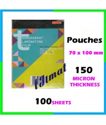 East-File Laminating Film Pouch ID / Sarung Laminate (70mm x 100mm) 150mic