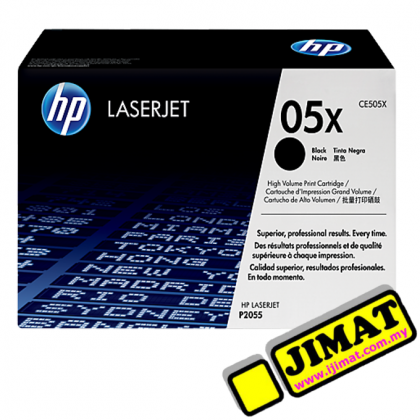 HP 05X Black LaserJet Toner Cartridge (CE505X) Original