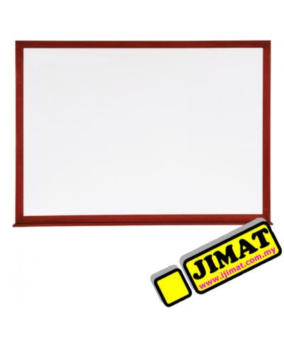 Wooden Frame White Board (Melamine Magnetic) SM34W (3\' x 4\')