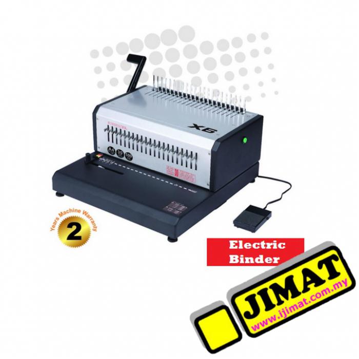 Biosystem X6 Electric Comb Binder (Binding Machine)