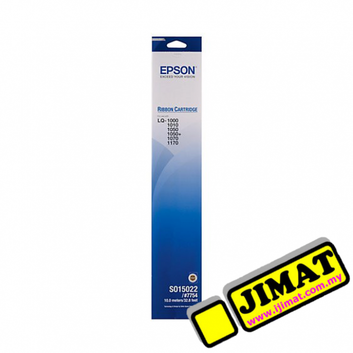 Epson 7754 LQ1000 LQ1050 Printer Ribbon S015511 Original