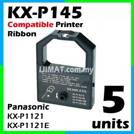 5 Units Panasonic 1121 / KXP1121 / KXP1121E / KX-P1121E / KX-P1121 / KX-P145ML / KXP145ML / KXP145 Compatible Dot Matrix Printer Ribbon