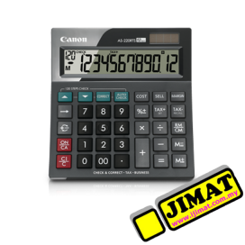 Canon AS-220RTS (12digits) Tax Calculator ( Check & Correct)