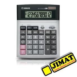 Canon Calculator WS-1210Hi III (12digits) Tax Calculator