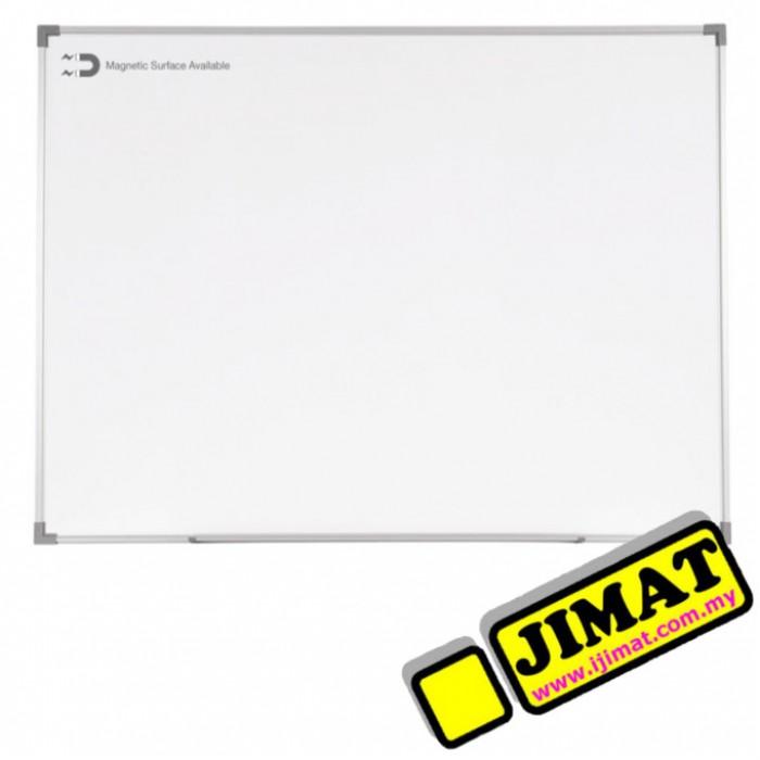 Standard Aluminium Frame White Board (Melamine Magnetic) SM34 (3\' x 4\')