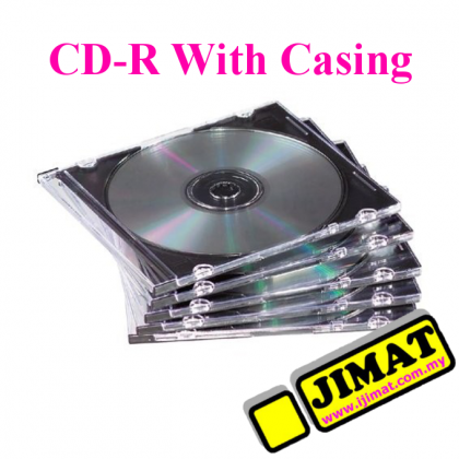 CD-R With Slim Casing (5pcs)