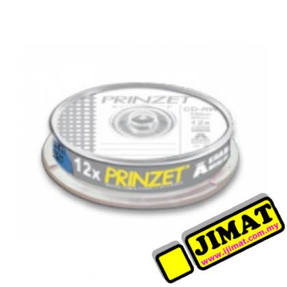 Prinzet CD-RW (700MB) A Grade 10Pcs