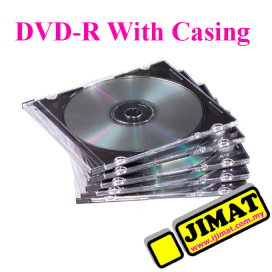 DVD-R With Slim Casing (5pcs)
